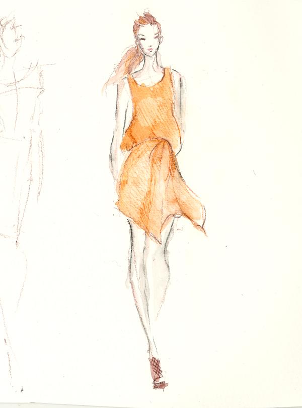 600x812 Dress Drawing Fashion Drawing Dress Drawing