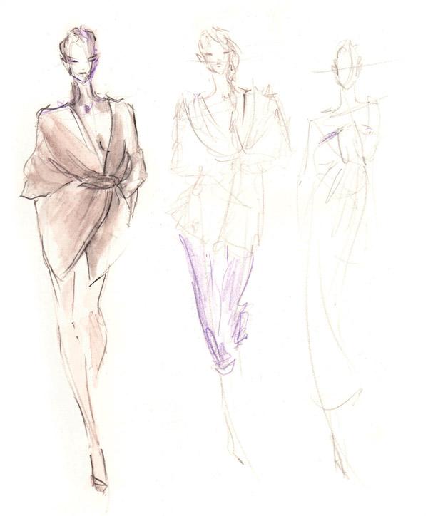 600x724 Drawing Berlin Fashion Week January 20 Final Fashion