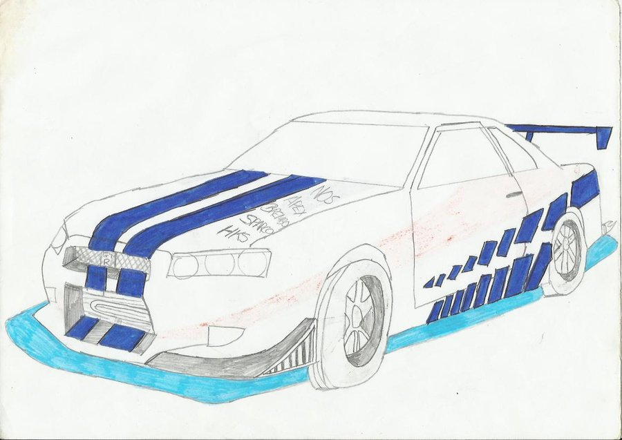 900x637 2 Fast 2 Furious Skyline By Mychemicalromancerev