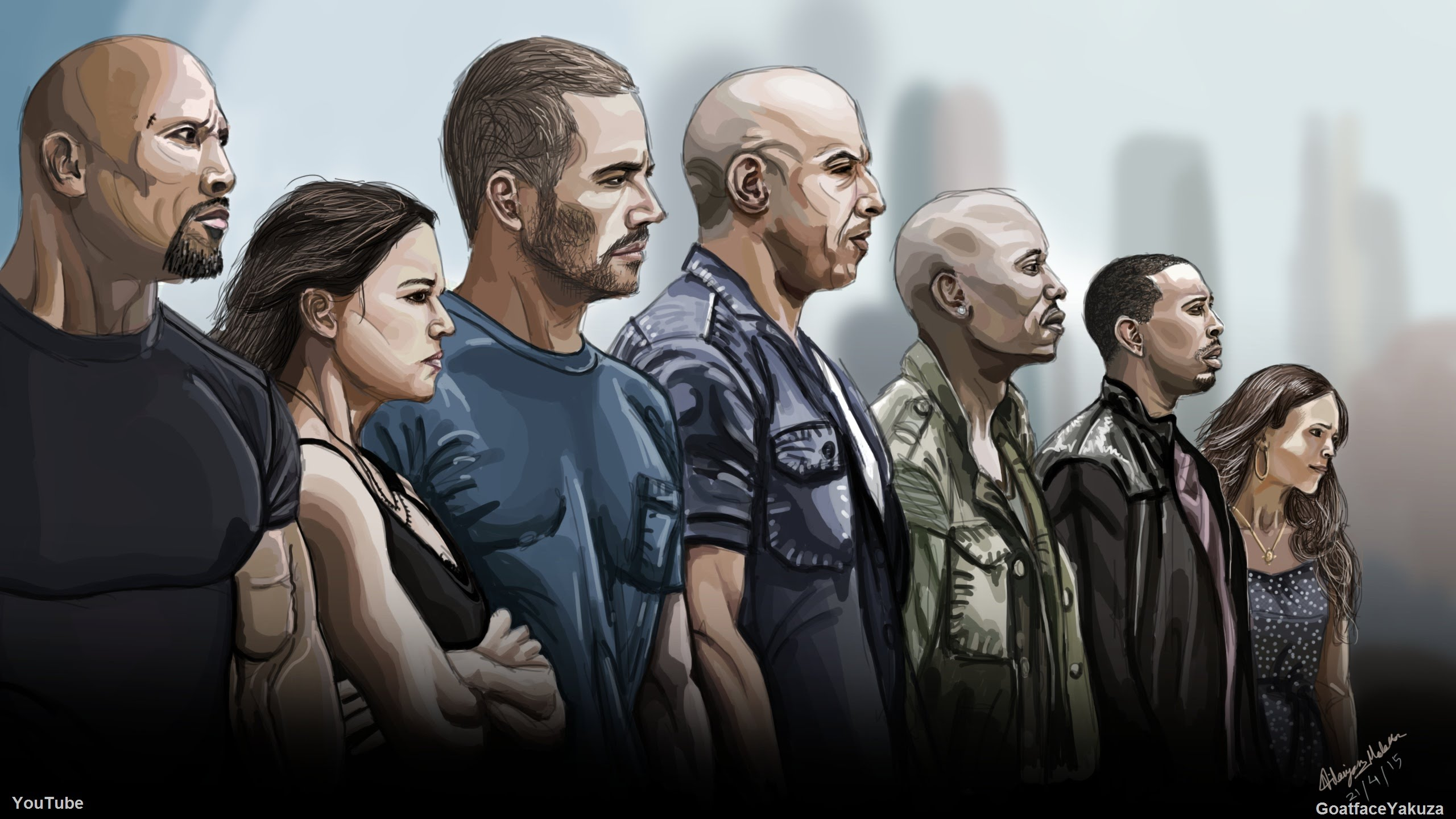 Fast And Furious 7 Drawing at GetDrawings.com | Free for ...