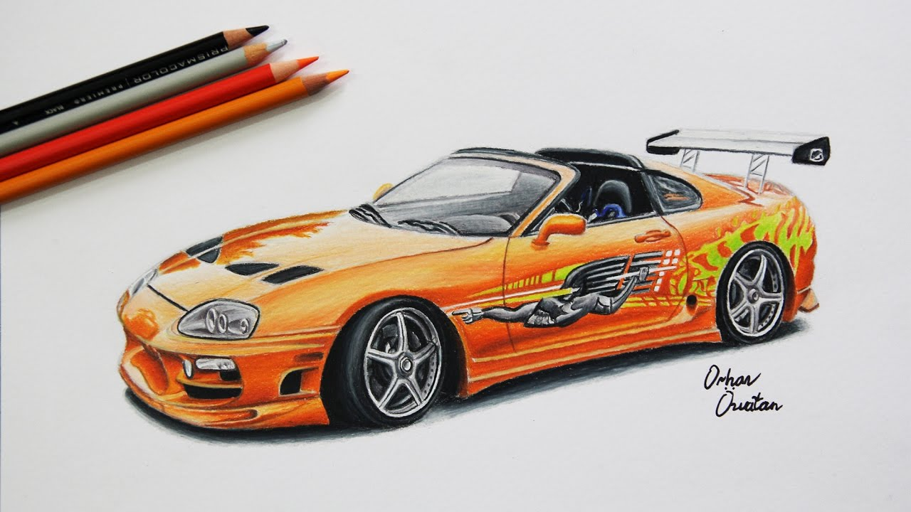 Ausmalbilder Sport Autos : Fast And Furious Drawing At Getdrawings Com Free For Personal Use