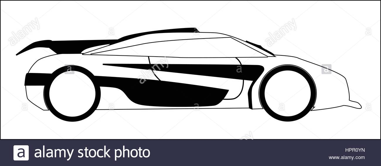 Fast Car Drawing at GetDrawings.com | Free for personal use Fast Car ...