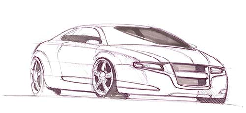 500x230 How To Draw A Car Fast Amp Easy