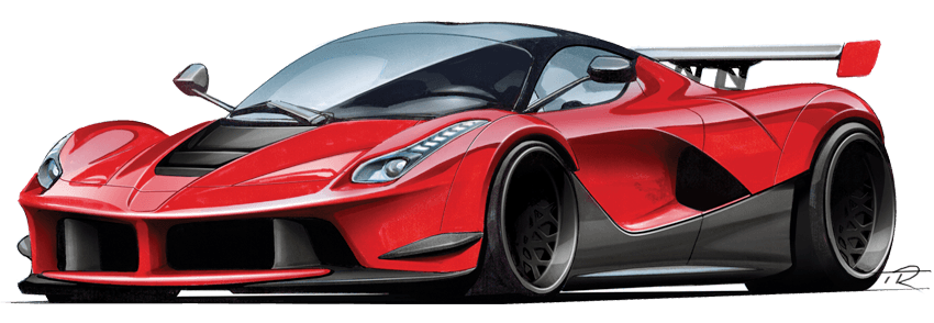 850x294 How To Draw A Car Fast Amp Easy