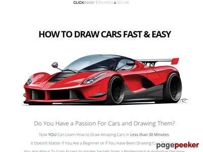 400x300 How To Draw A Car Fast Amp Easy With Tim Rugendyke Increase