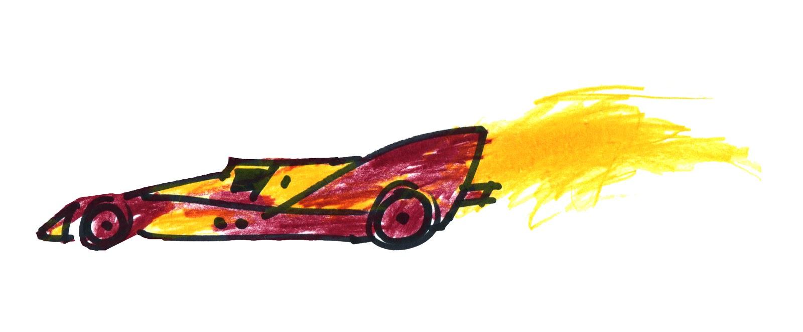 1600x661 An Open [Sketch]book A Very Fast Car