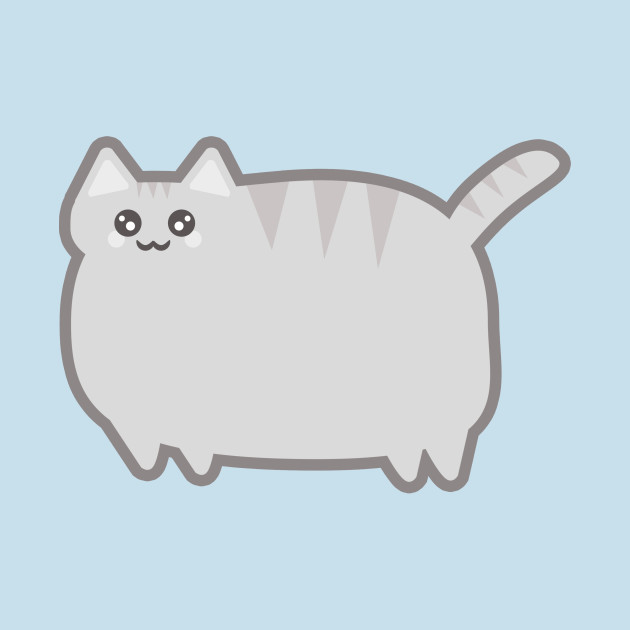 630x630 Kawaii Fat Cat