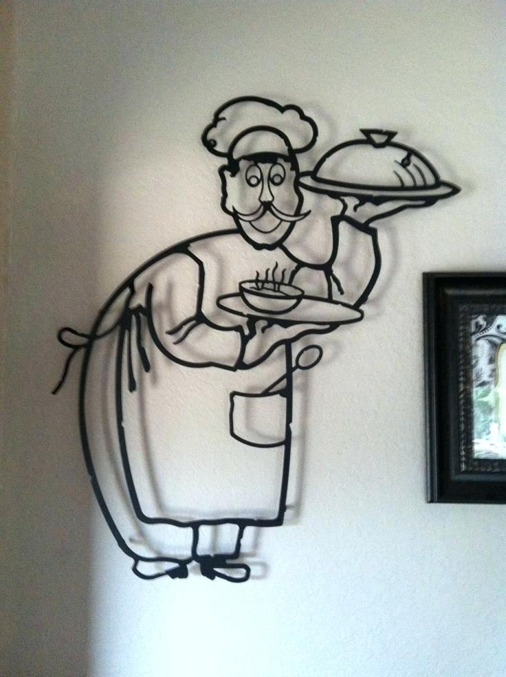 736x985 Fat Italian Chef Kitchen Decor Fat Chef Kitchen Wall Clock Add