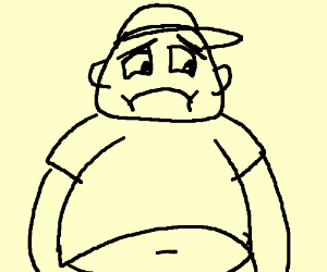 300x250 Sad Fat Guy