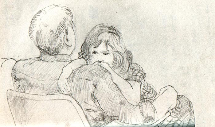 700x414 Father And Daughter By Ibnelson