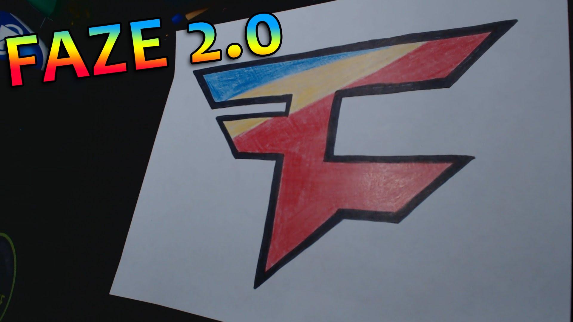 1920x1080 Drawing The Faze 2.0 Logo