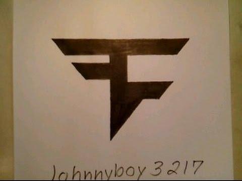 480x360 How To Draw Faze Clan Logo Sign Symbol Emblem Easy Step By Step
