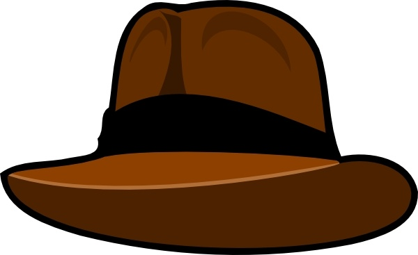 600x367 Adventurer Hat Clip Art Free Vector In Open Office Drawing Svg