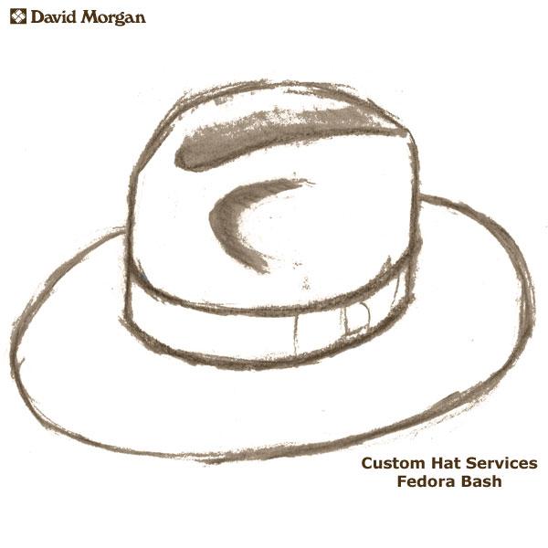 600x600 Custom Akubra Hat Services Fedora Bash