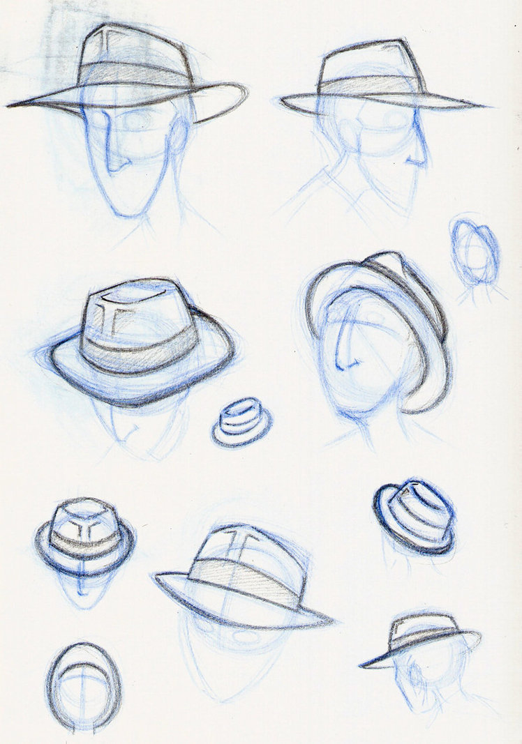 748x1067 Fedora Practice By Expression