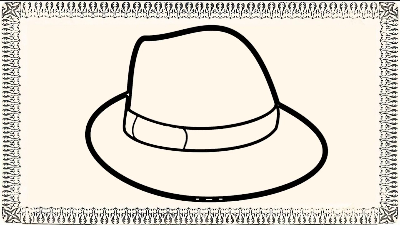 1280x720 How To Draw A Hat