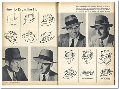 395x297 Learn How To Draw Hats