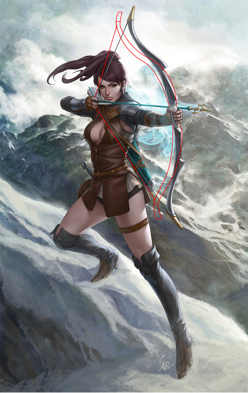 500x793 Crap Archery Mountain Archress