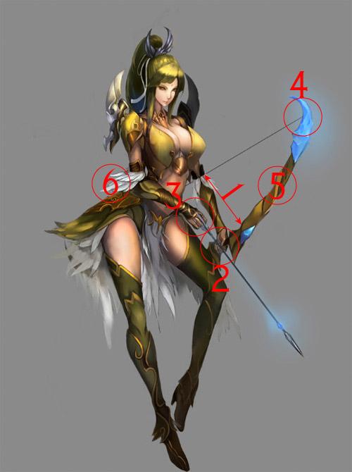 500x670 Crap Archery Sexist Manga Female Archer Drawing