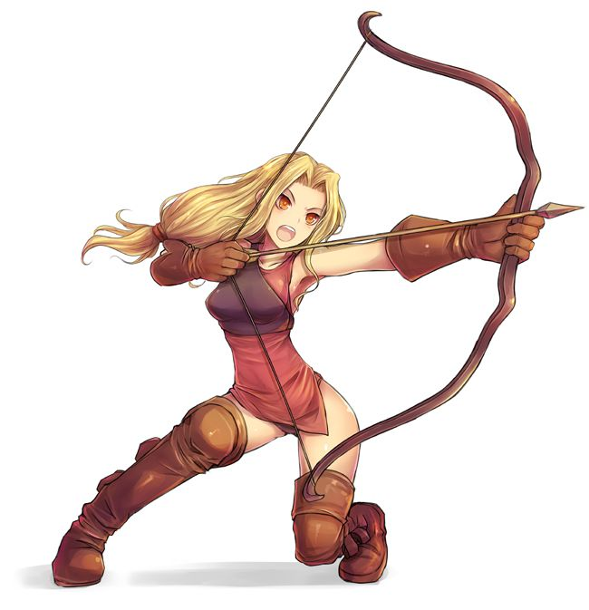 650x673 Anime Archer Girl Archers Specialize The Use Of Bows And