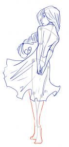 142x302 How To Draw Female Figures, Draw Female Bodies, Step By Step