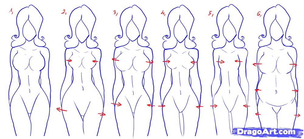 1000x458 To Draw Female Figures