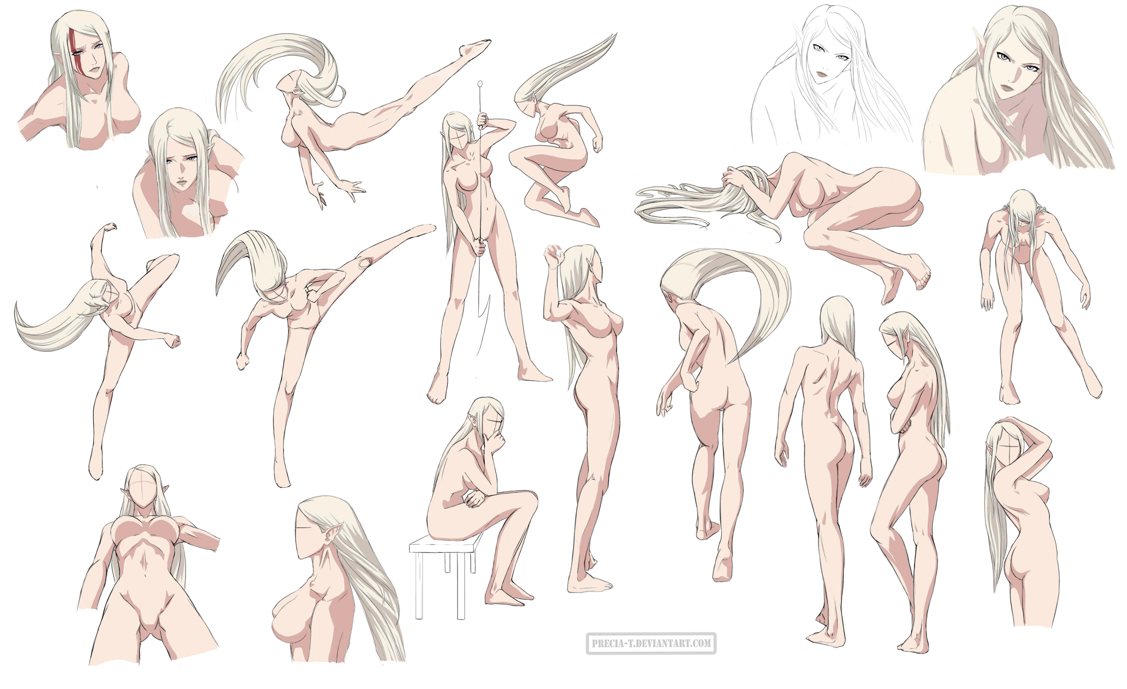 Female Body Reference Drawing At Getdrawings Free For Personal