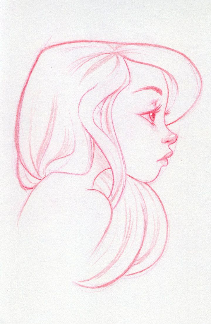 Female Face Profile Drawing At GetDrawings.com | Free For Personal Use Female Face Profile ...