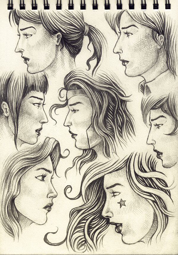 female faces drawing at getdrawings com free for personal use