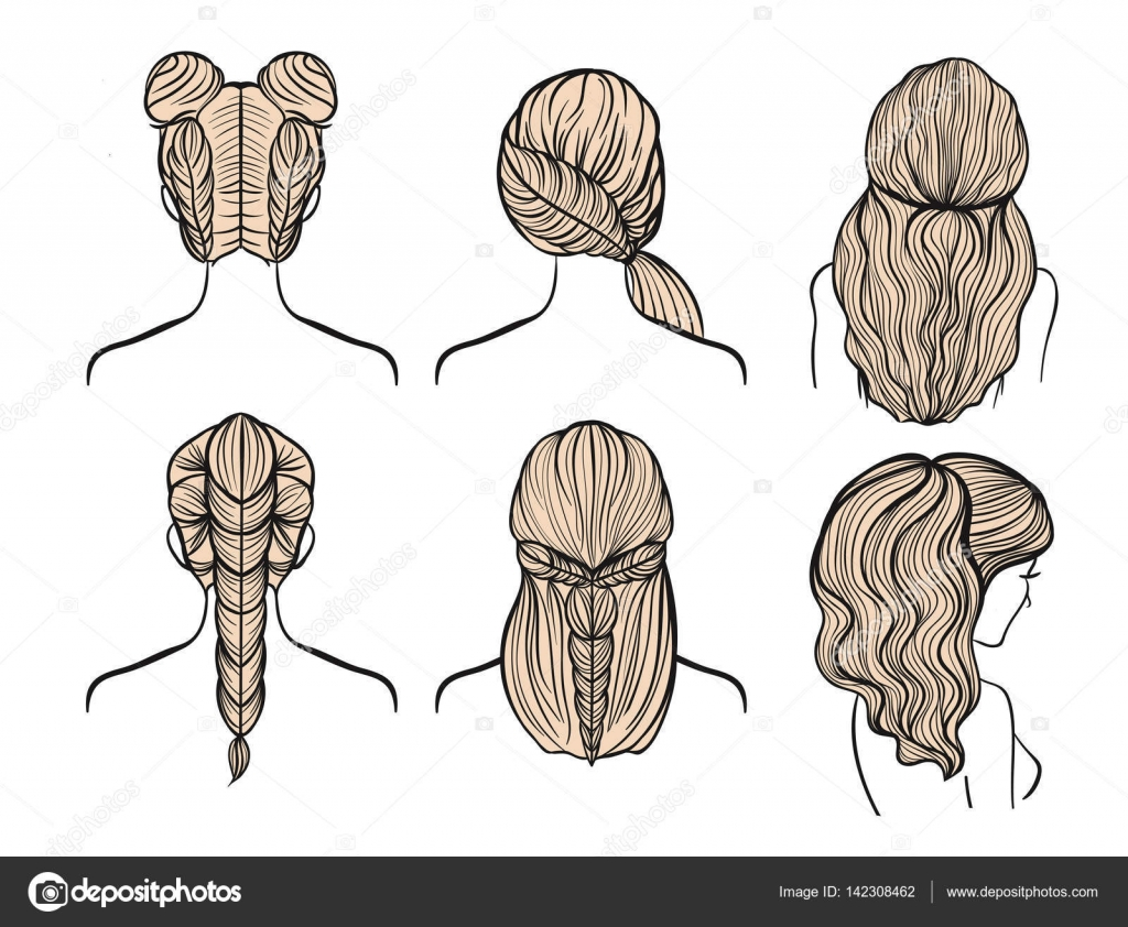 female hairstyles drawing at getdrawings | free download