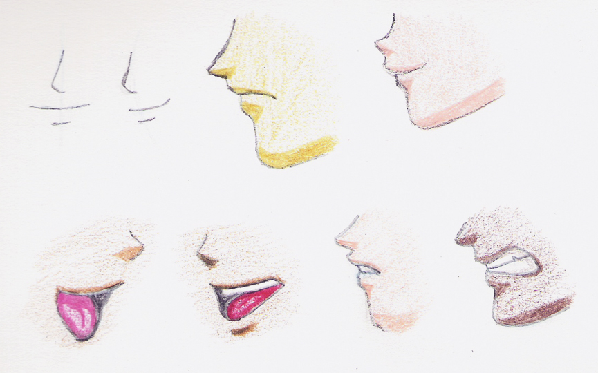 865x540 How To Draw Mangaanime Mouths How To Draw Manga
