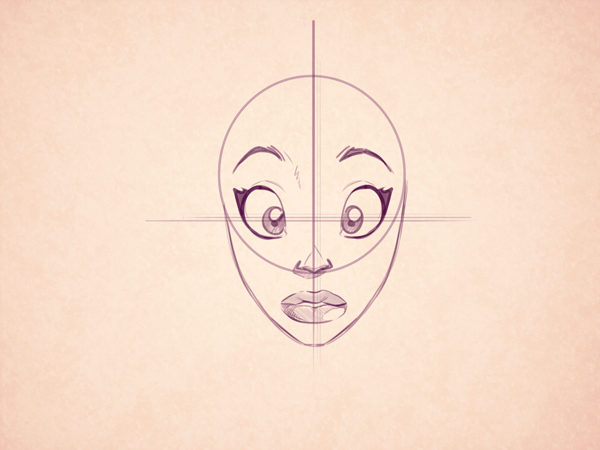 Line Drawing Of Female Face : Female nose drawing at getdrawings free for personal use