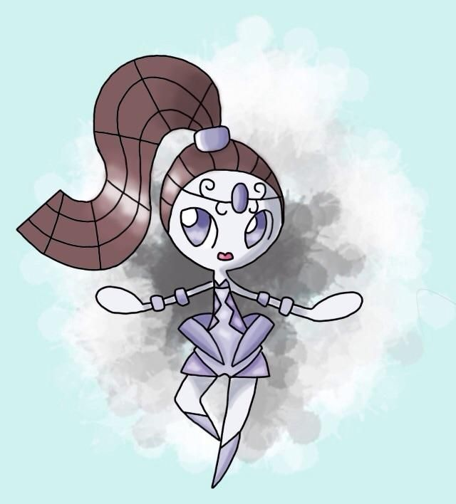 640x708 I Decided To Try And Redesign Meloetta In The Style Of Female