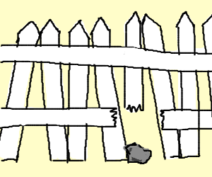 broken chain link fence png. 300x250 Rock Leaning Against Broken Fence. Chain Link Fence Png