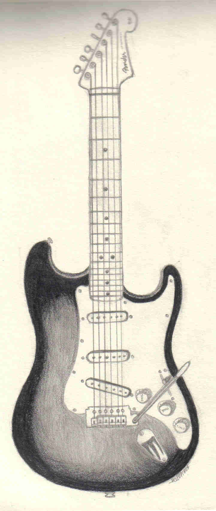 The Best Free Stratocaster Drawing Images  Download From 40 Free Drawings Of Stratocaster At