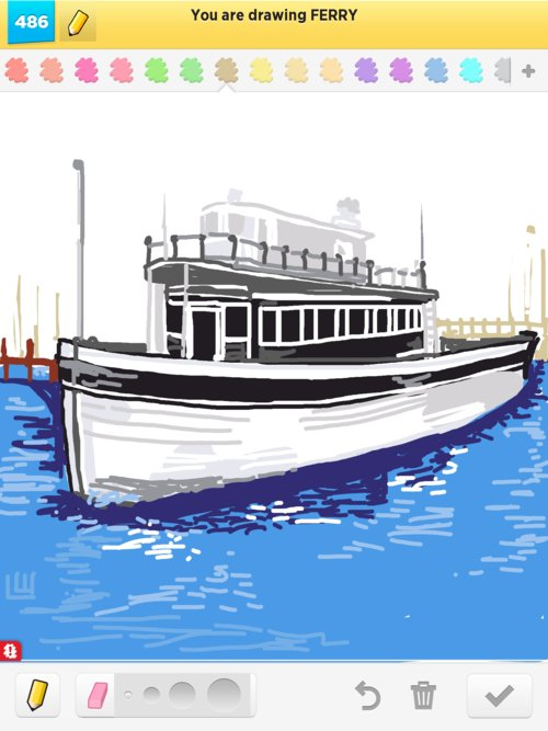 500x667 Ferry Drawings
