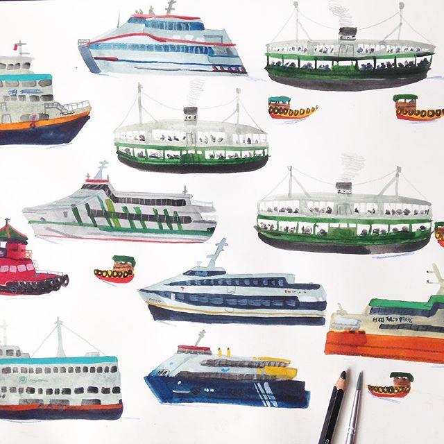 640x640 Hong Kong Harbour Ferries