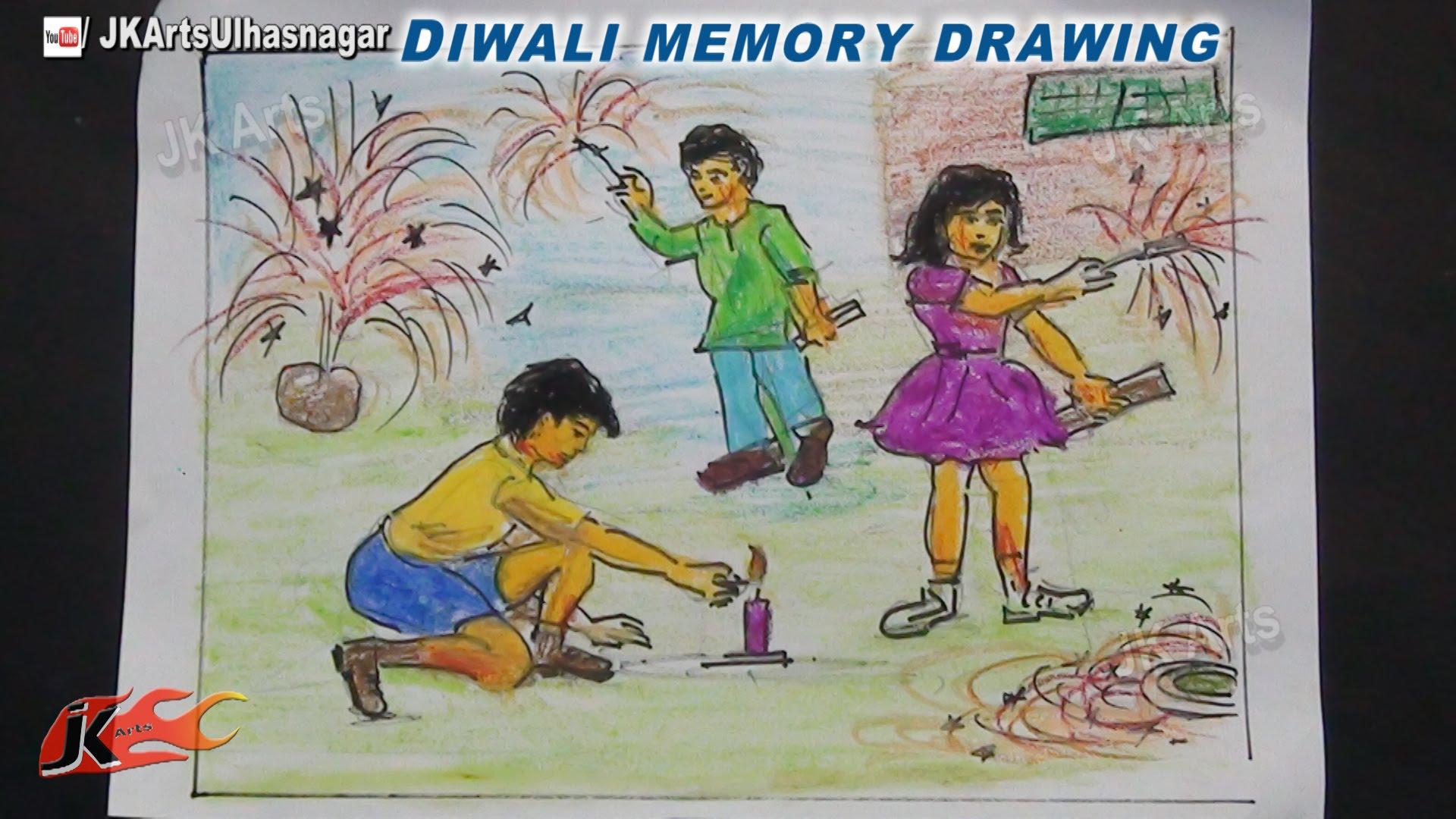 1920x1080 Happy Diwali Memory Drawing How To Draw Jk Arts 754