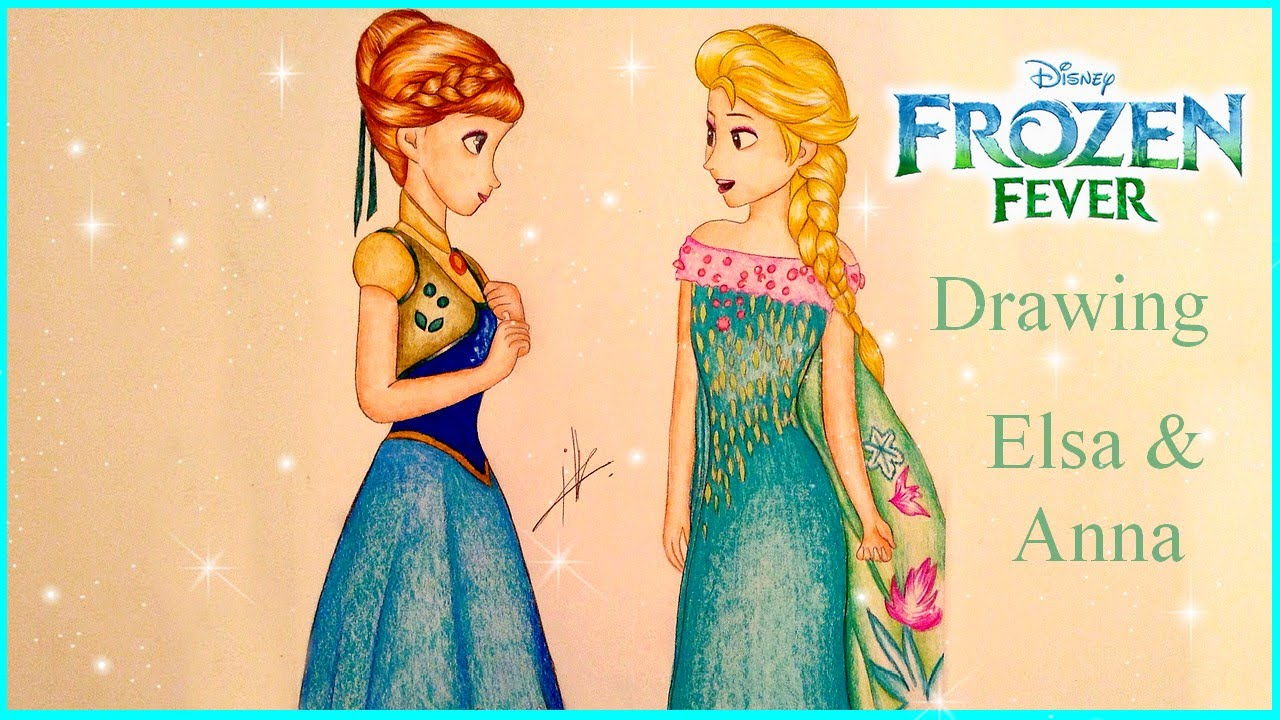 1280x720 Frozen Fever Drawing