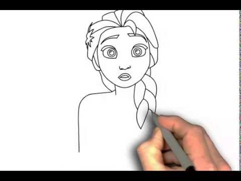 480x360 How To Draw Elsa From Frozen Fever Step By Step