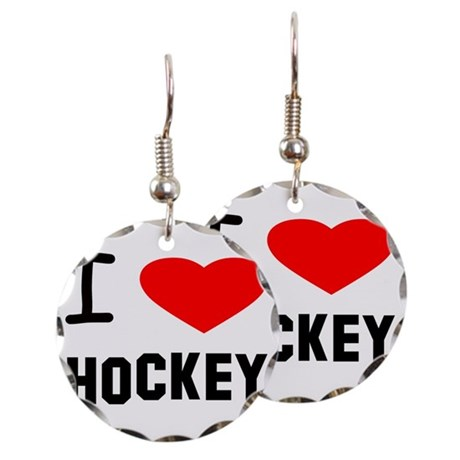460x460 Field Hockey Stick Drawing Earrings Field Hockey Stick Drawing
