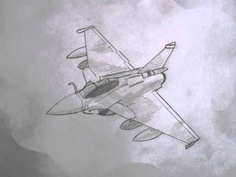 480x360 How To Draw Military Vehicles Dassault Rafale Fighter Jet
