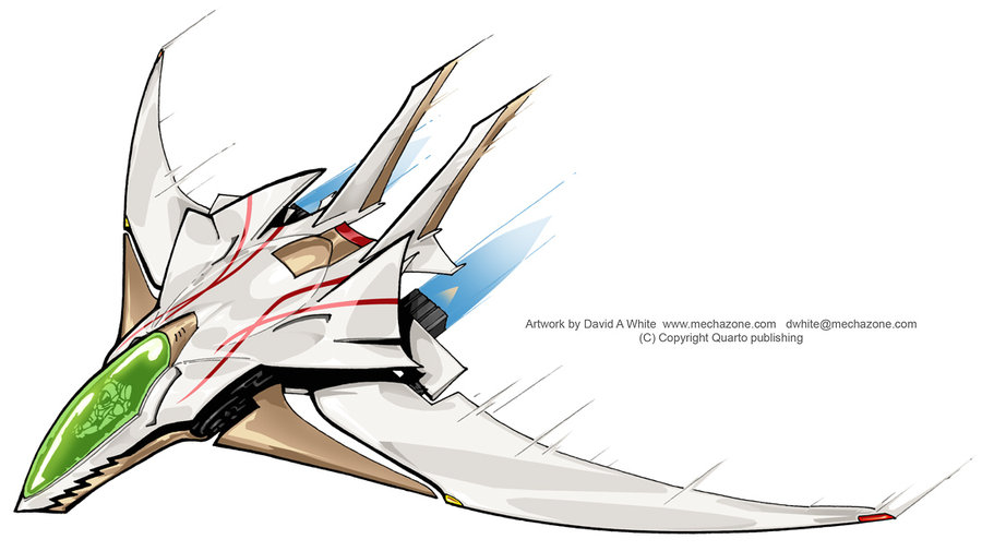 900x505 Lightweight Jet Fighter By Mecha Zone
