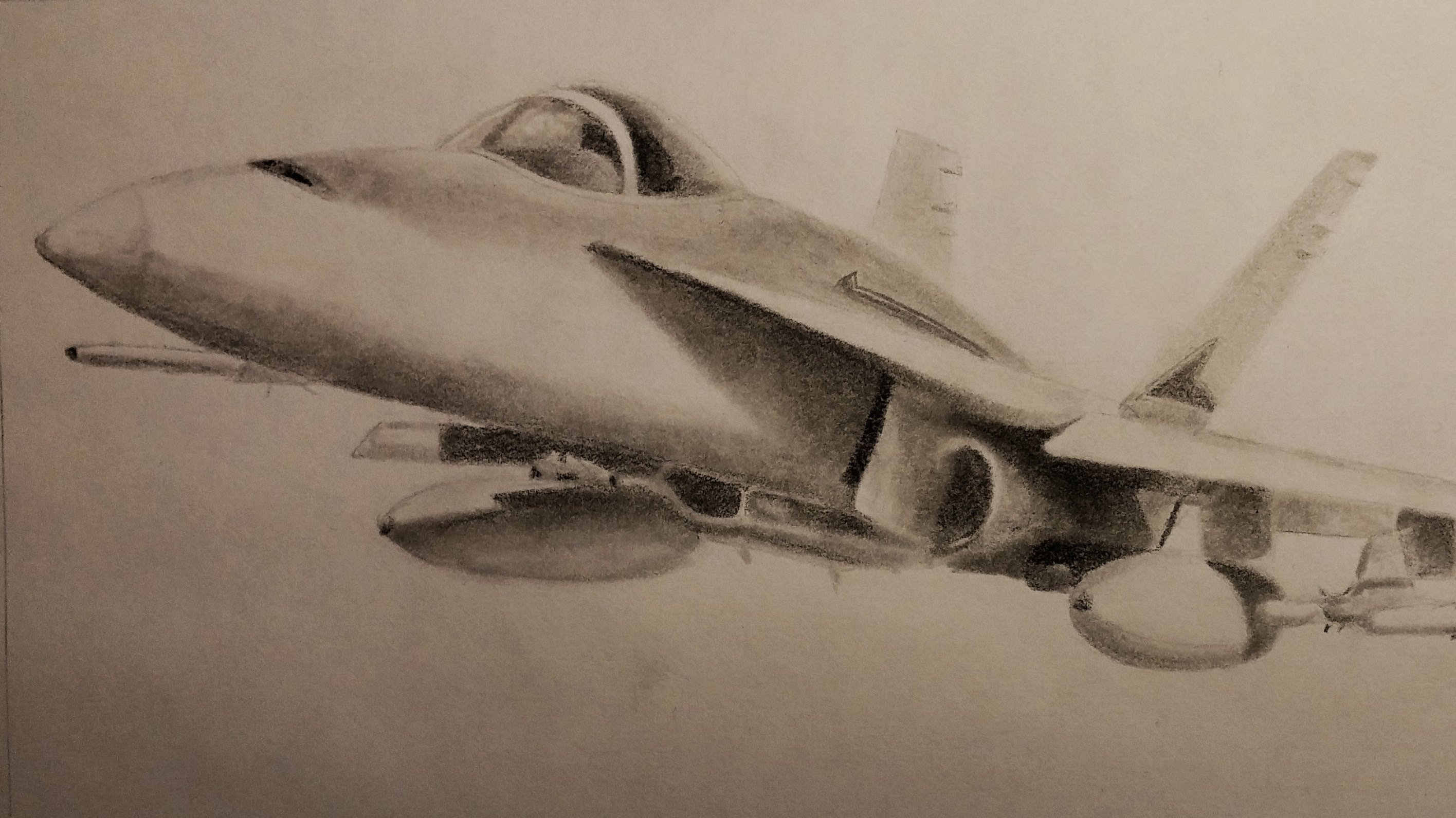 2832x1592 Wicked Plane Drawing F 18 Fighter Jet