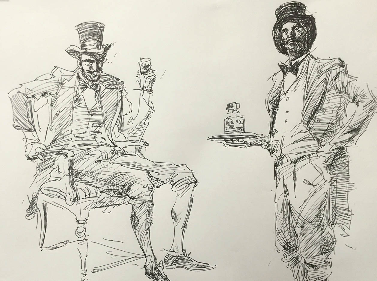 1258x938 Costumed Figure Drawing with Charles Hu Spring 2017 Online Full