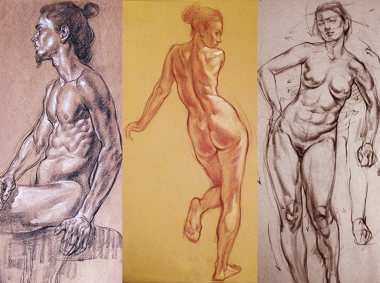 1258x938 Figure Drawing Rhythm and Structure Summer 2017 Standard Access