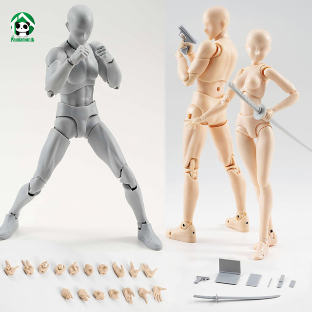 640x640 New Body Action Figure Reference Dolls For Drawing Pvc Models Kids