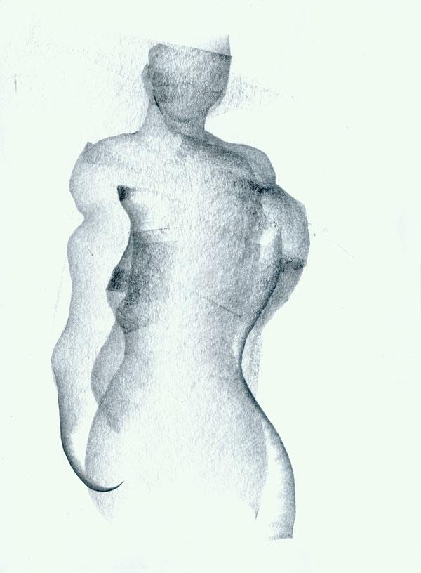 600x816 Standing Male Figure