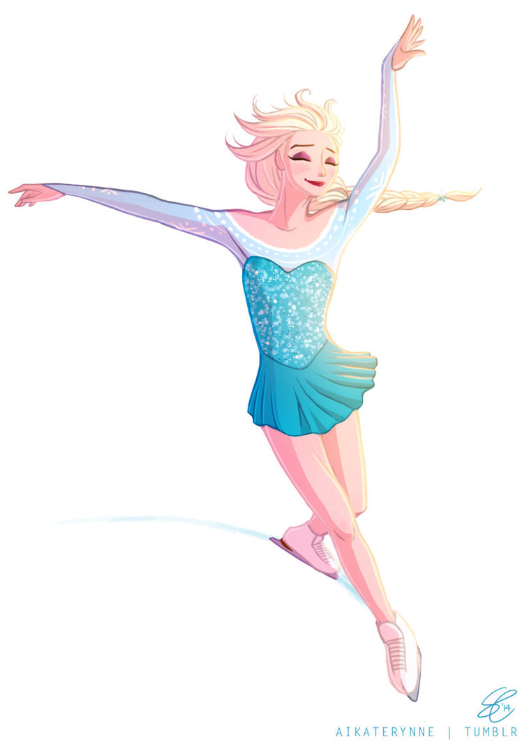 748x1067 Figure Skater Elsa By Radissonclaire