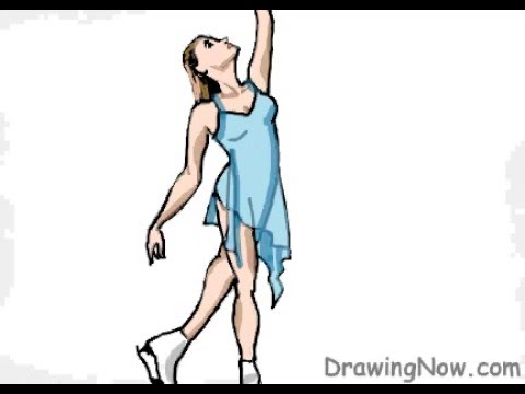 480x360 How To Draw An Ice Skater